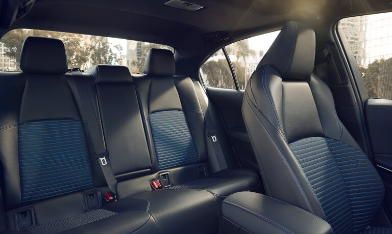 2021 Toyota Corolla Leather Backseat