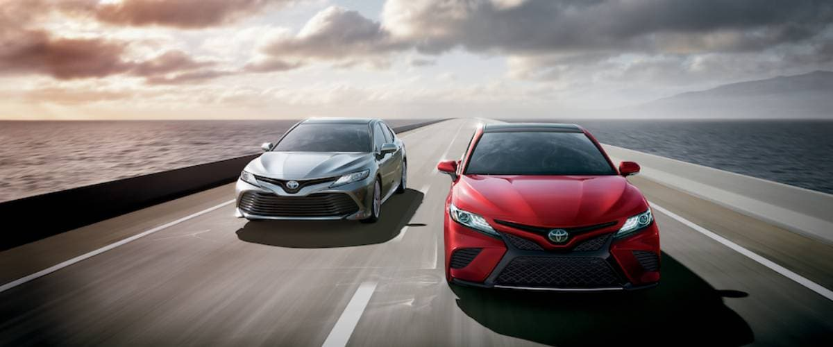 New Toyota Camry serving Peoria