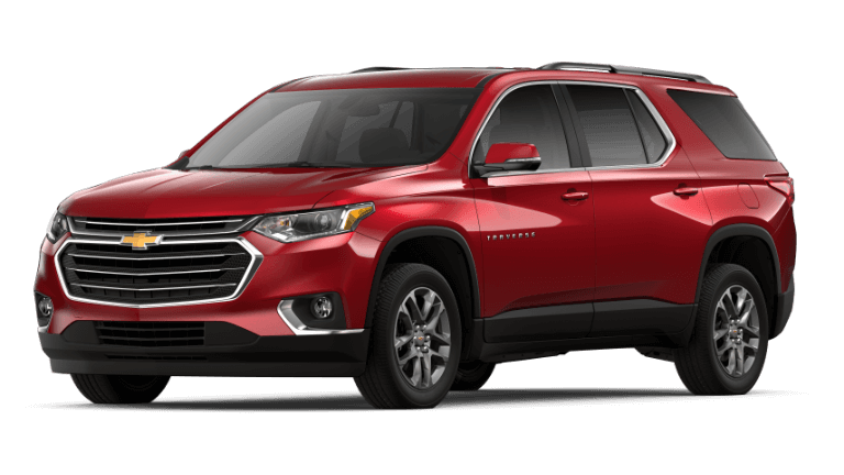 2019 Chevy Traverse LT - Cajun Red