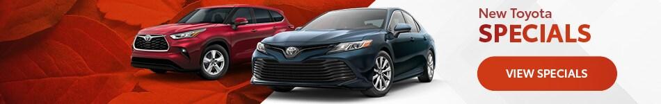 New Toyota Specials - October 2020