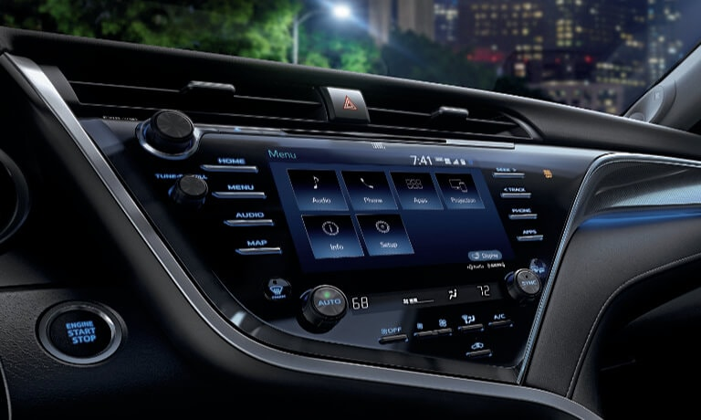 2019 Toyota Camry Interior Front Infotainment System