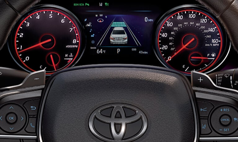2019 Toyota Camry Interior Driver Dashboard