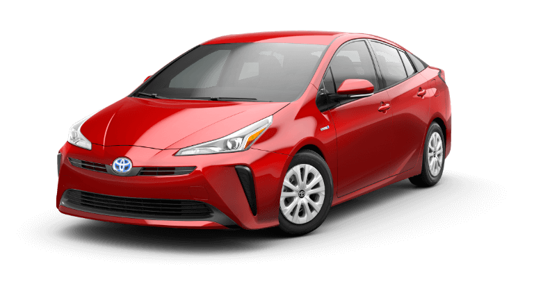 2019 Toyota Prius L Eco - Supersonic Red