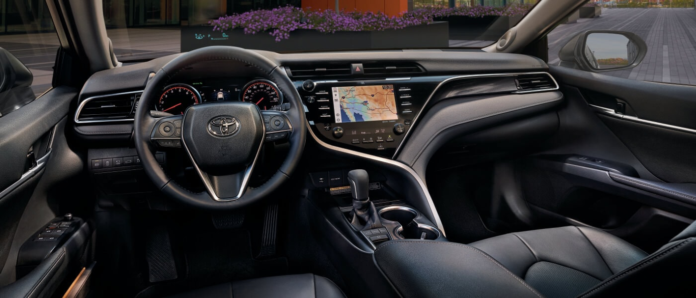 2019 Toyota Camry Interior Front View