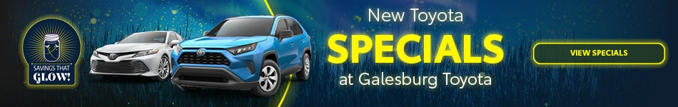 New Toyota Specials - September 2020