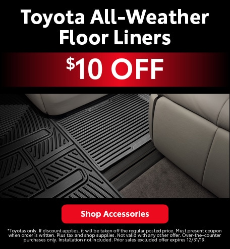 Toyota All-Weather Floor Liners