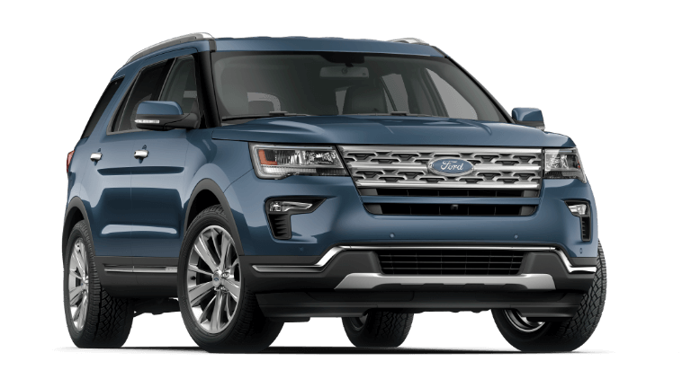 2019 Ford Explorer Limited - Blue