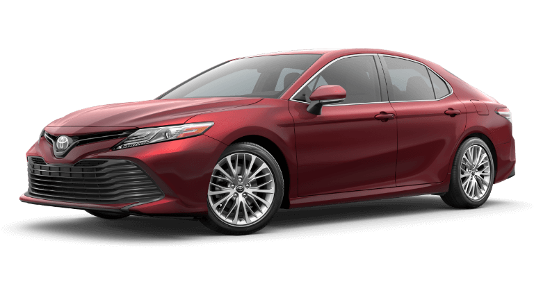 2019 Toyota Camry XLE - Ruby Flare