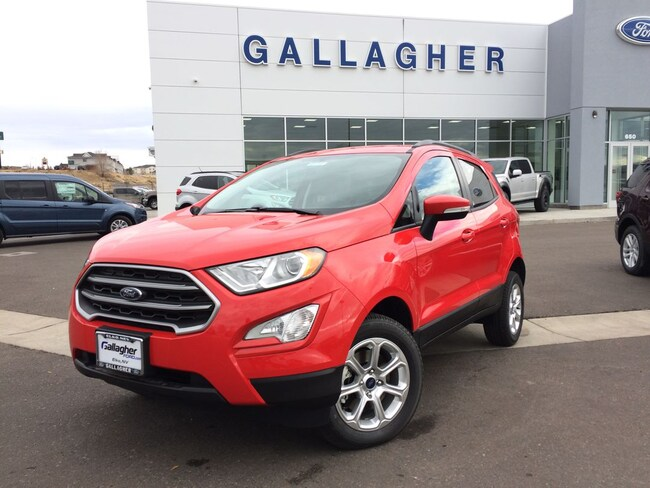 New 2018 Ford EcoSport SE Crossover for sale near Winnemucca