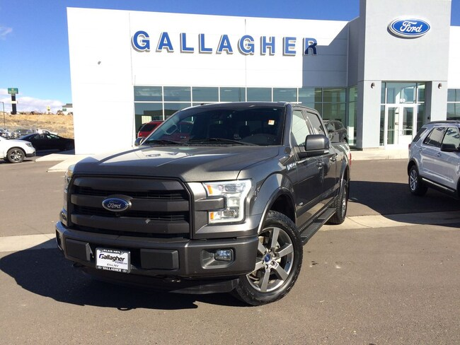 Used 2016 Ford F-150 Truck SuperCrew Cab for sale in Elko, NV