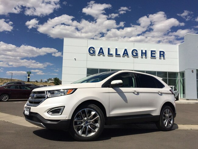 New 2018 Ford Edge Titanium Crossover for sale near Winnemucca