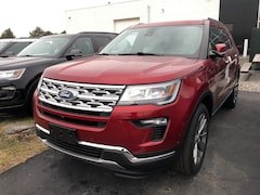 2019 Ford Explorer Limited 301a Twin POanel Moon Roof Limited 4WD