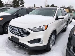 2019 Ford Edge Titanium Cdn Touring & Cold Weather & Tow pkgs SUV