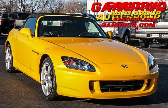 2009 Honda S2000 Base Convertible
