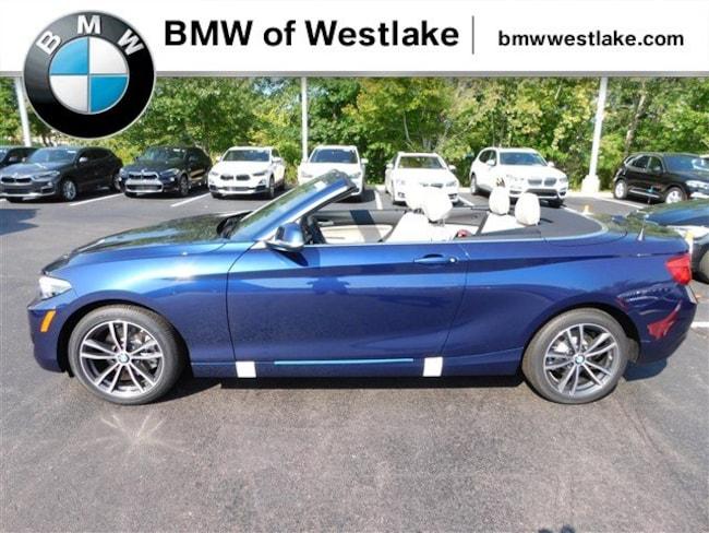 New 2019 BMW 2 Series 230i xDrive Convertible Westlake OH