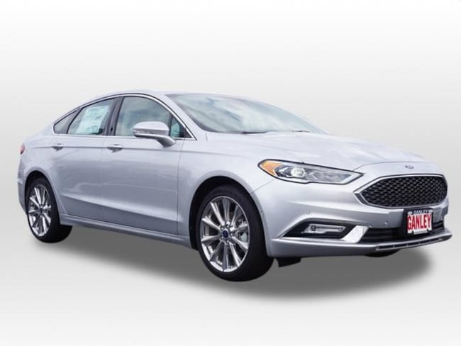 New 2017 Ford Fusion Platinum Sedan in Barberton, OH
