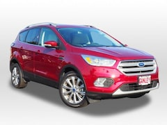 New 2018 Ford Escape Titanium SUV 18EC163 for sale in Barberton, OH at Ganley Ford