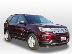 New 2019 Ford Explorer XLT SUV for sale in Barberton, OH at Ganley Ford