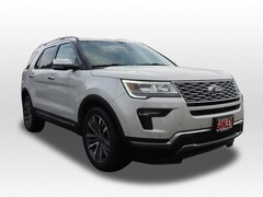New 2018 Ford Explorer Platinum SUV for sale in Barberton, OH at Ganley Ford