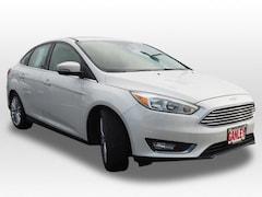 New 2017 Ford Focus Titanium Sedan for sale in Barberton, OH at Ganley Ford