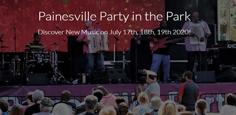 Painesville Party in the Park July 17-19, 2020