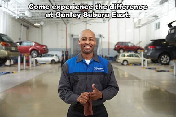 Ganley Subaru East >> Service Menu Ganley Subaru East