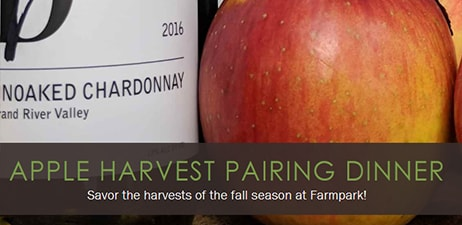 Lake Farmpark presents: Apple Harvest Pairing Dinner Sept 25, 2020