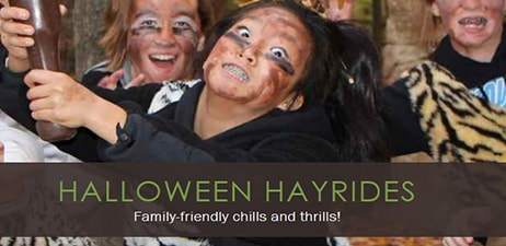 Lake Farmpark presents: Halloween Hayrides