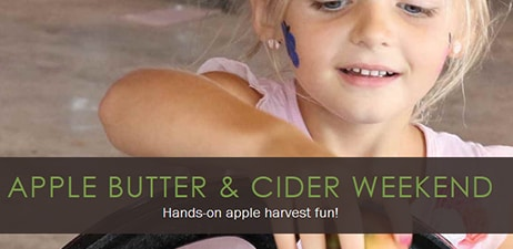 Lake Farmpark presents: Apple Butter & Cider Weekend Sept 26-27