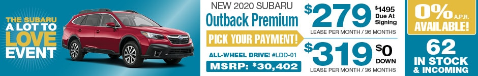 2020 Subaru Outback AUGUST