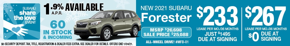 Forester Share the Love