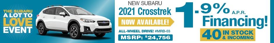 2020 Subaru Crosstrek AUGUST