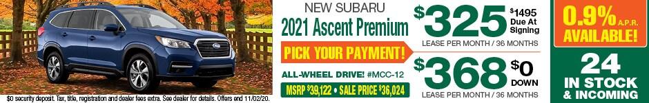 2021 Ascent October