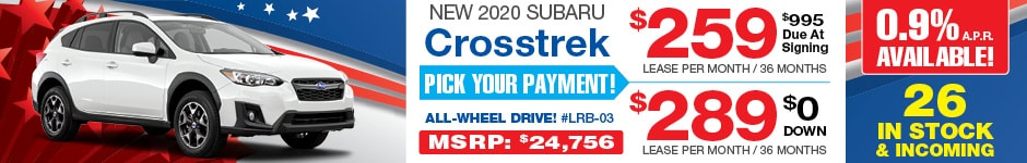 2020 Subaru Crosstrek JULY