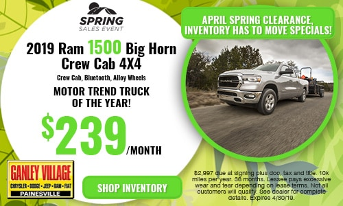 April Ram 1500 Offer
