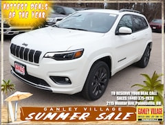 New 2019 Jeep Cherokee HIGH ALTITUDE 4X4 Sport Utility Painesville