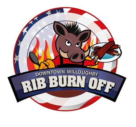 2017 Downtown Willoughby Rib Burn-Off