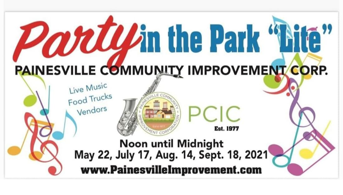 PAINESVILLE PARTY IN THE PARK 5/22/21