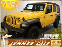 New 2018 Jeep Wrangler UNLIMITED SPORT 4X4 Sport Utility Painesville