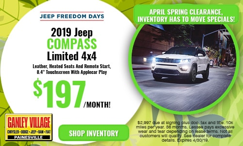 April Jeep Compass Offer