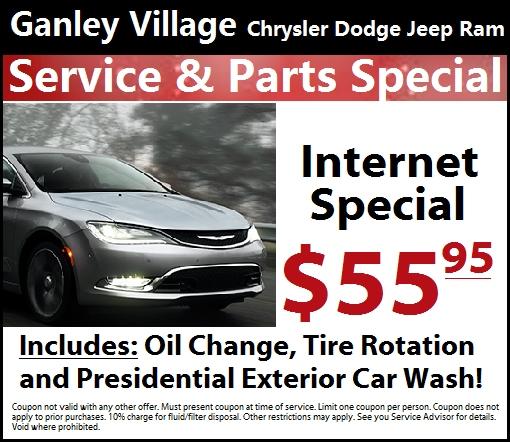 Chrysler Dealer Naples Fl: Ganley Village Service Specials