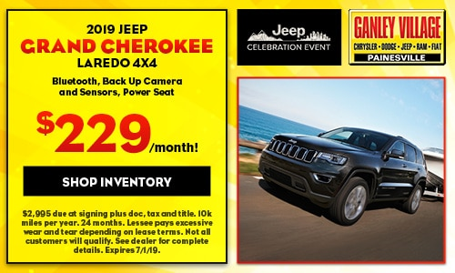 June 2019 Jeep Grand Cherokee Laredo Lease Offer