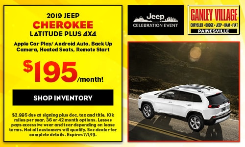 June 2019 Jeep Cherokee Latitude Lease Offer