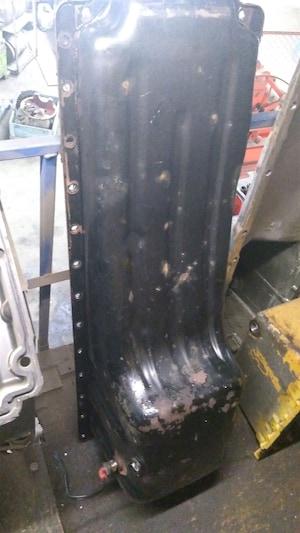 2007 Volvo Steel Oil Pan for N14 cummins panne huile Steel Oil Pan for N14 cummins panne huile