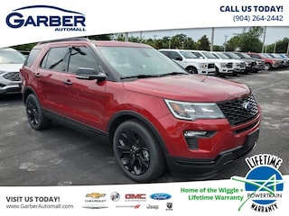2019 Ford Explorer Sport, Moonroof, Leather, Ecoboost SUV