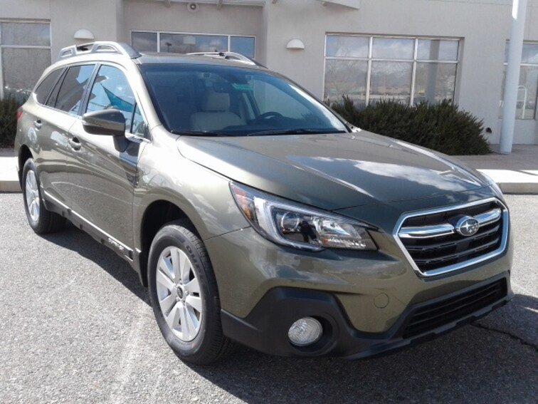 New 2019 Subaru Outback 2.5i Premium SUV for sale in Albuquerque, NM at Garcia Subaru North