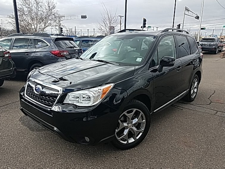 2016 Subaru Forester 2.5i Touring SUV for sale in Albuquerque, NM at Garcia Subaru East
