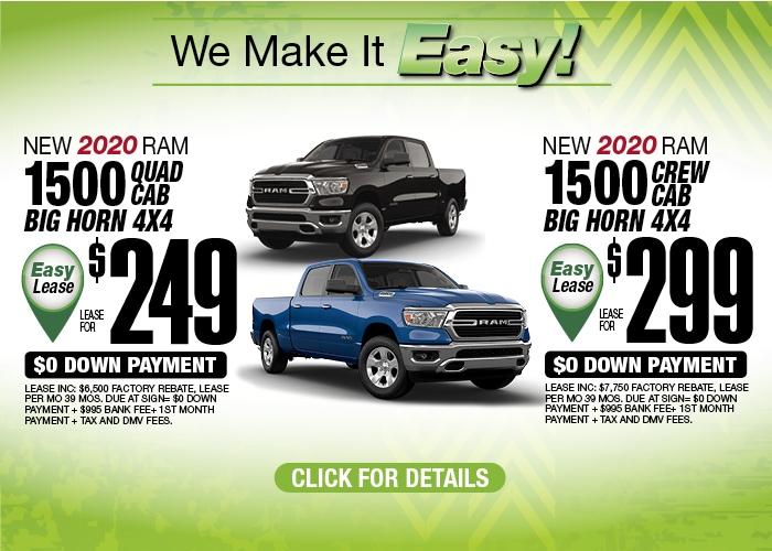 RAM1500 Deals May 2020