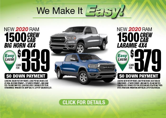 Ram 1500 Deals - October 2020