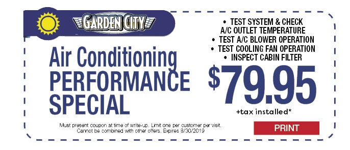 Air Conditioning Performace Check